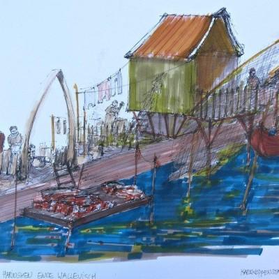 Walvisvaarder en Leeghwater
